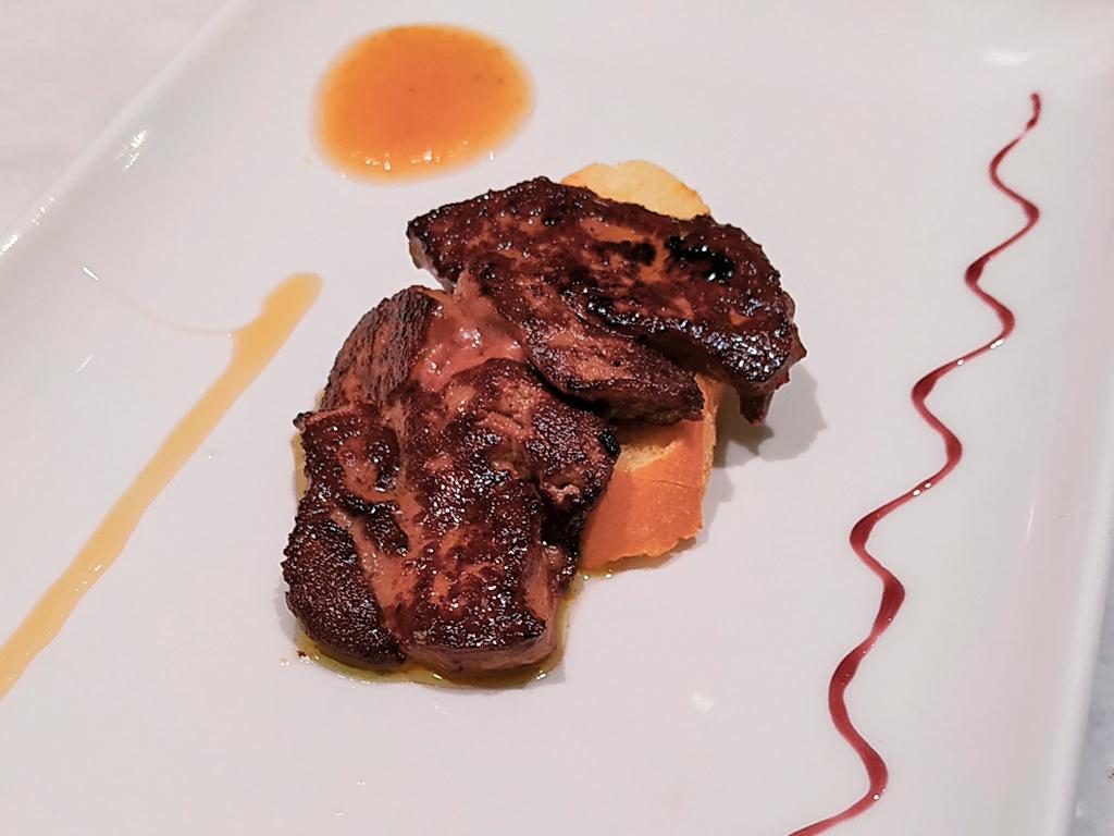 Foie (wątróbka) - jedno z najwspanialszych pintxos San Sebastian