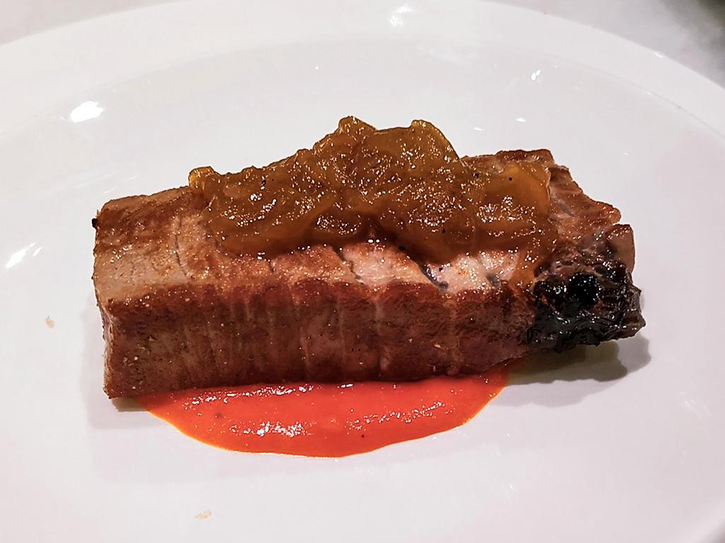 Mała porcja tuńczyka (bonito)