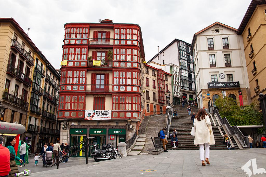 Stare miasto w Bilbao