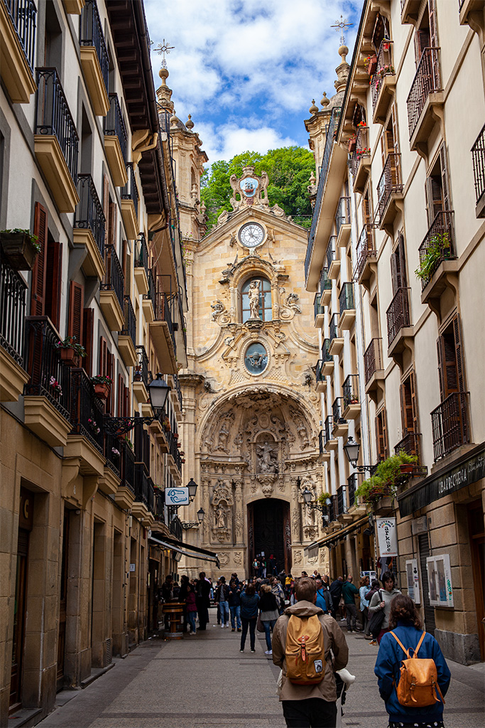 San Sebastan, co zobaczyć? Uliczki starego miasta