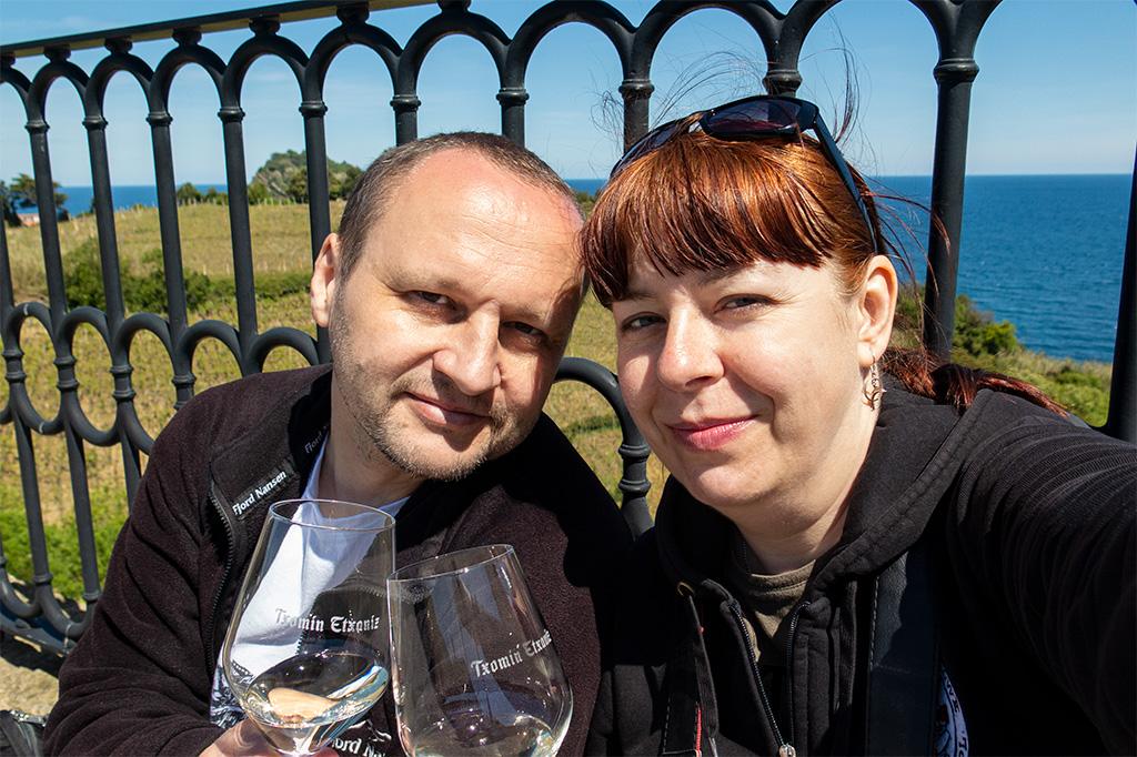 Okolice San Sebastian: winnica Txomin Etxaniz