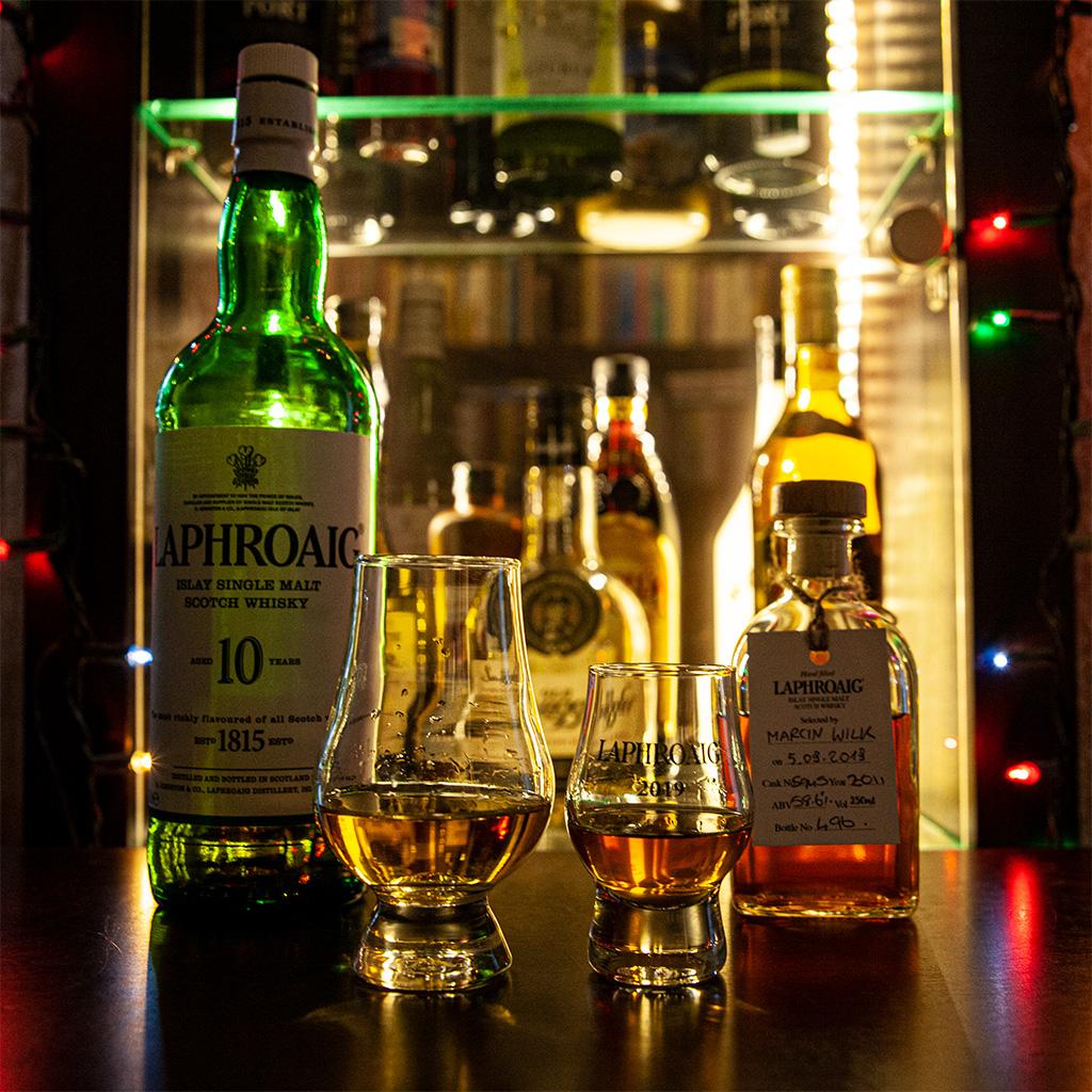 Historia jednej butelki kończy się szczęśliwie na naszym stole :)