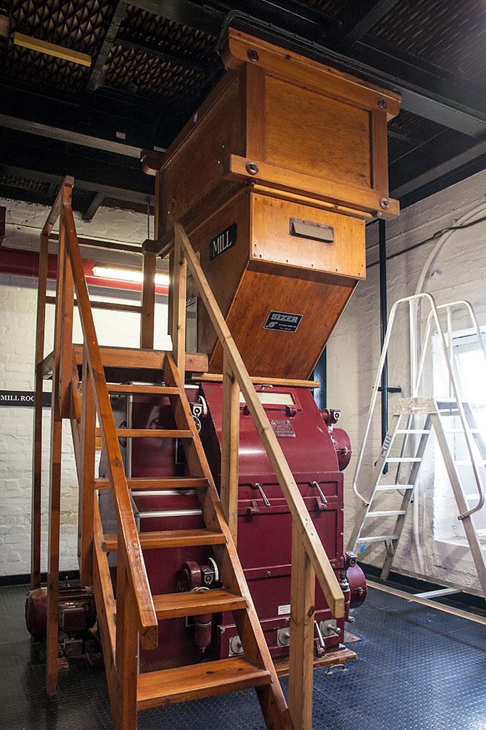 Jak powstaje Islay Single Malt – malt mill
