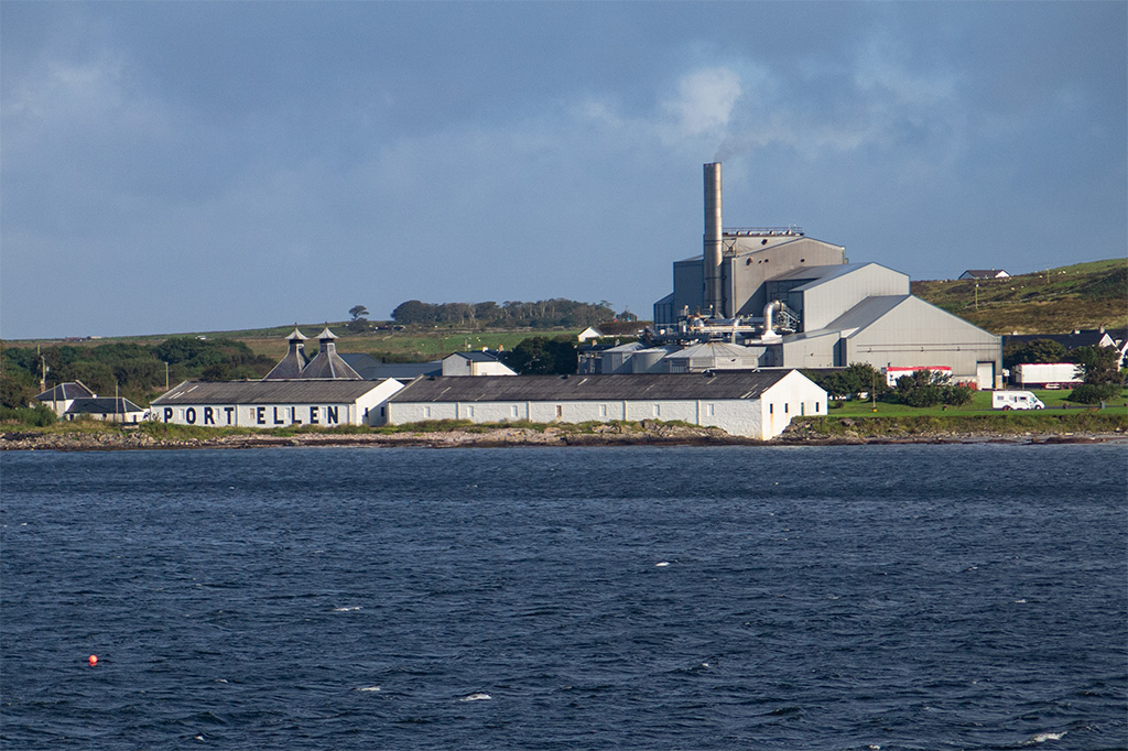 Islay, Port Ellen Maltings od strony morza