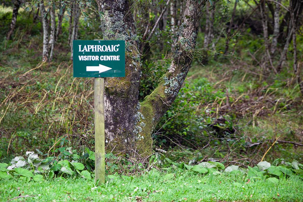 Laphroaig - zwiedzanie w prawo ;)
