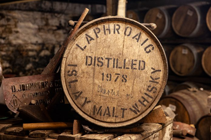 Laphroaig Islay Single Malt Whisky