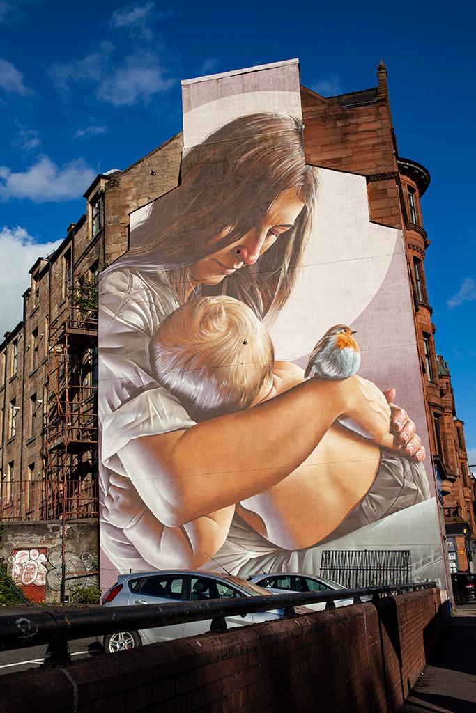 Co zobaczyć w Glasgow? Niesamowite murale