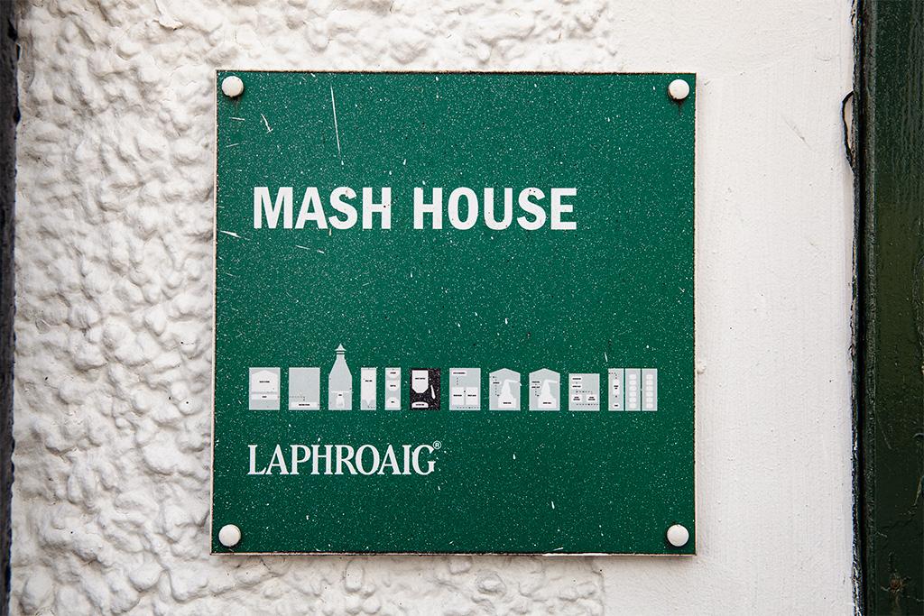Tu powstaje zacier. Przy okazji Laphoraig ładnie obrazuje kolejne etapy procesu powstawania whisky :)