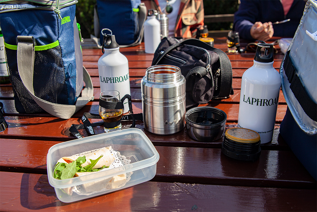 Laphroaig, zwiedzanie i jedzenie :)