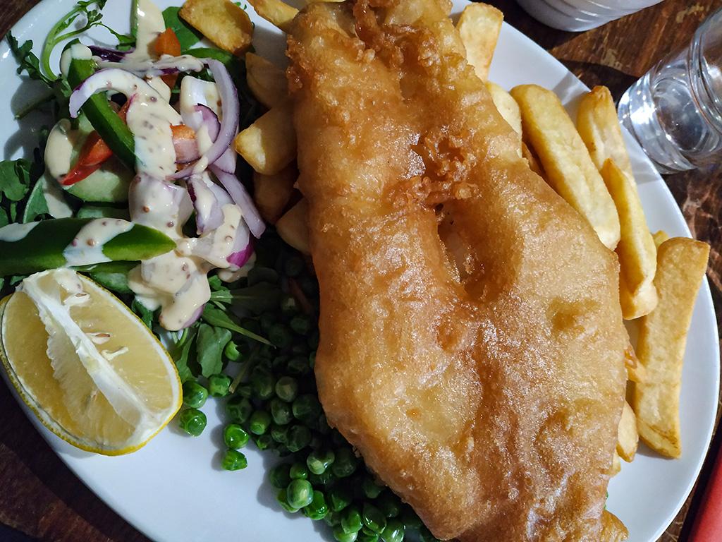 Fish&chips, pozycja obowiązkowa ;)