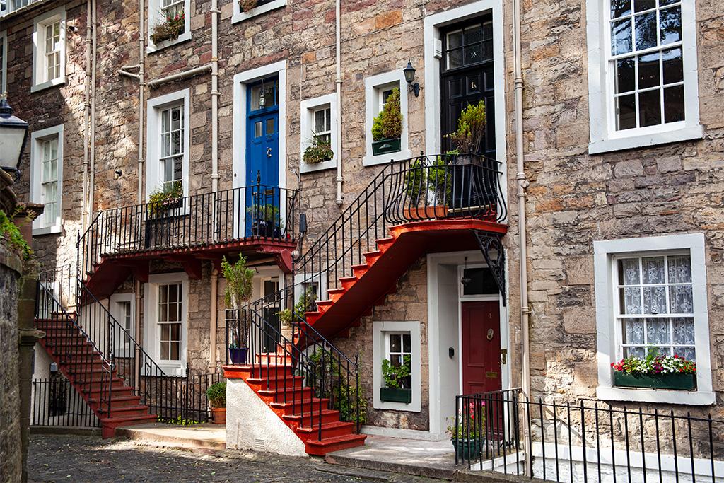 Co zobaczyć w Edynburgu - Ramsay Garden