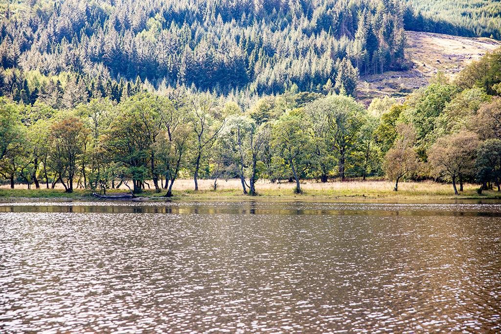 Szkocja to długie jeziora i wzgórza