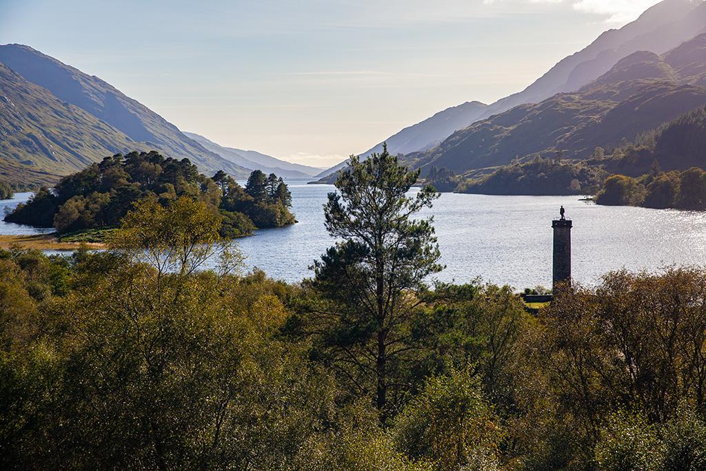 Co zobaczyć w Szkocji – Loch Shiel i Glenfinnan Monument