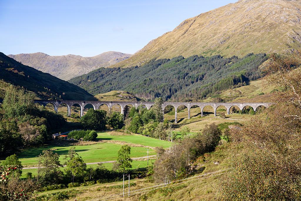 Co zobaczyć w Szkocji – Wiadukt Glenfinnan
