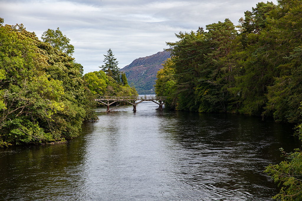 Widok na Loch Ness
