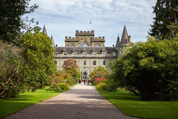 Inveraray Castle – pierwsze spojrzenie