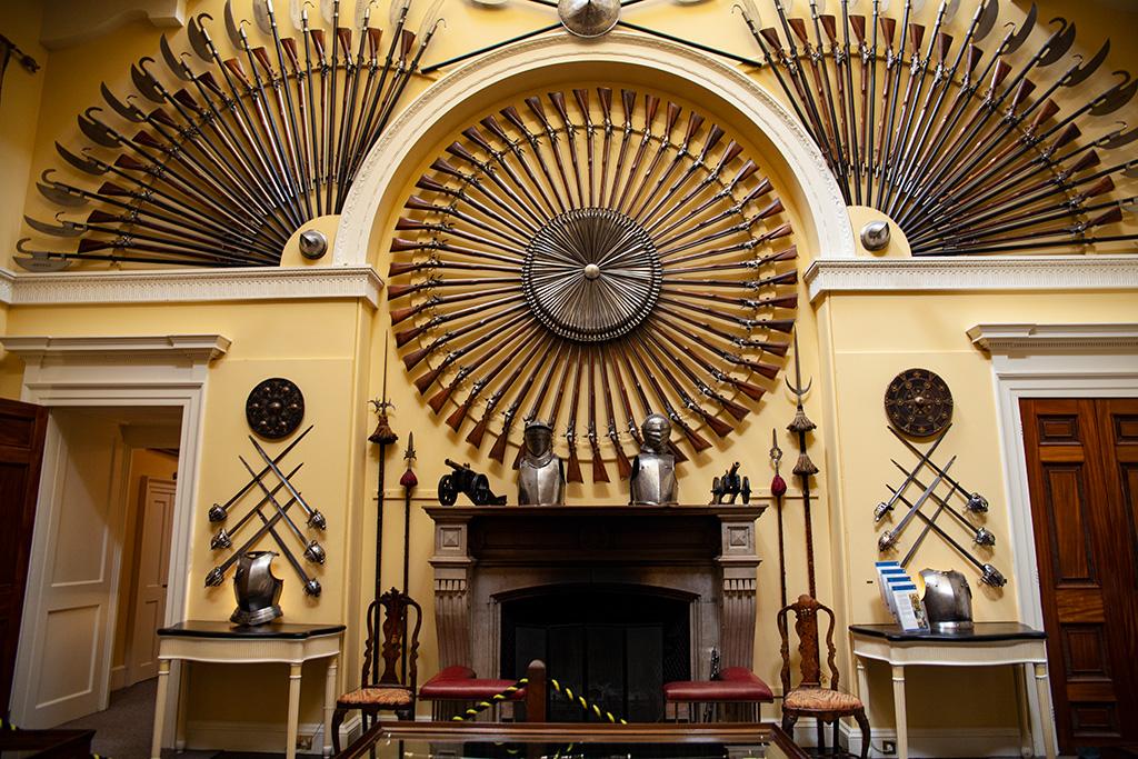 Inveraray Castle – fascynująca zbrojownia