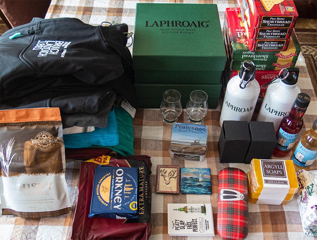 Rzeczy przywiezione ze Szkocji