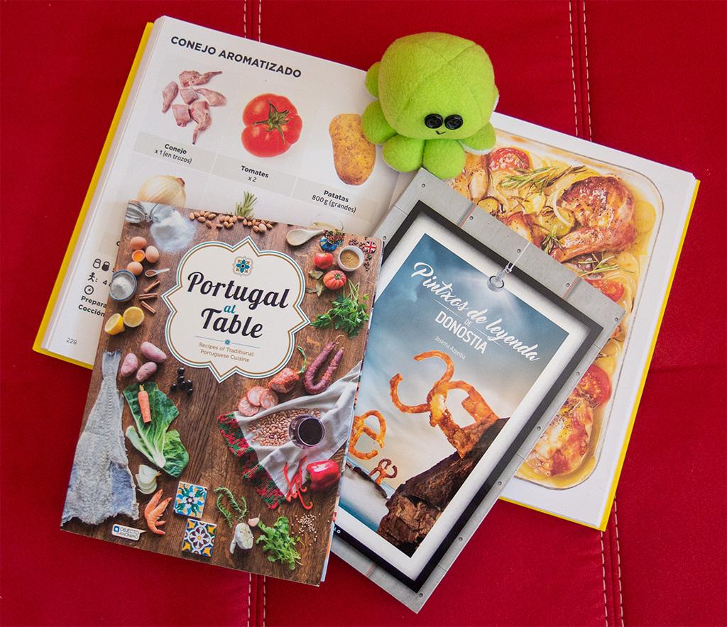 Pamiątki z podróży – książki kucharskie: Simplismo, pintxos i kuchnia portugalska