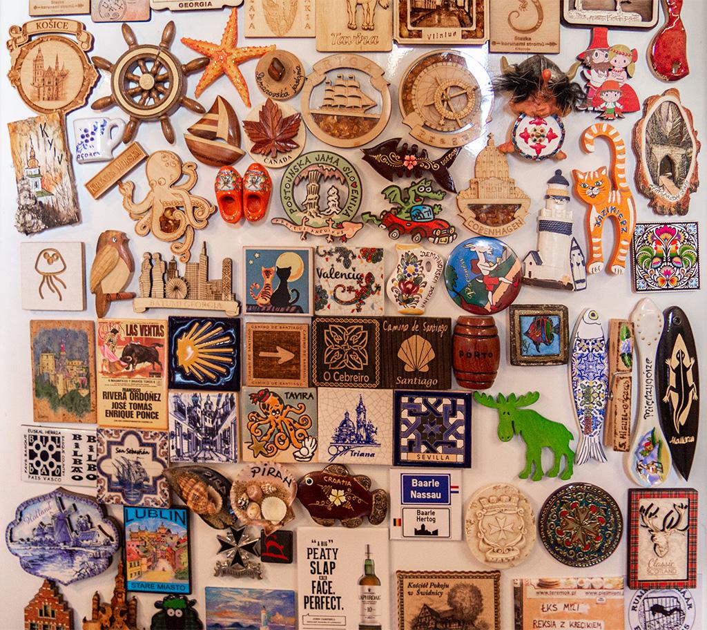 Pamiątki z podróży – magnesy na lodówkę