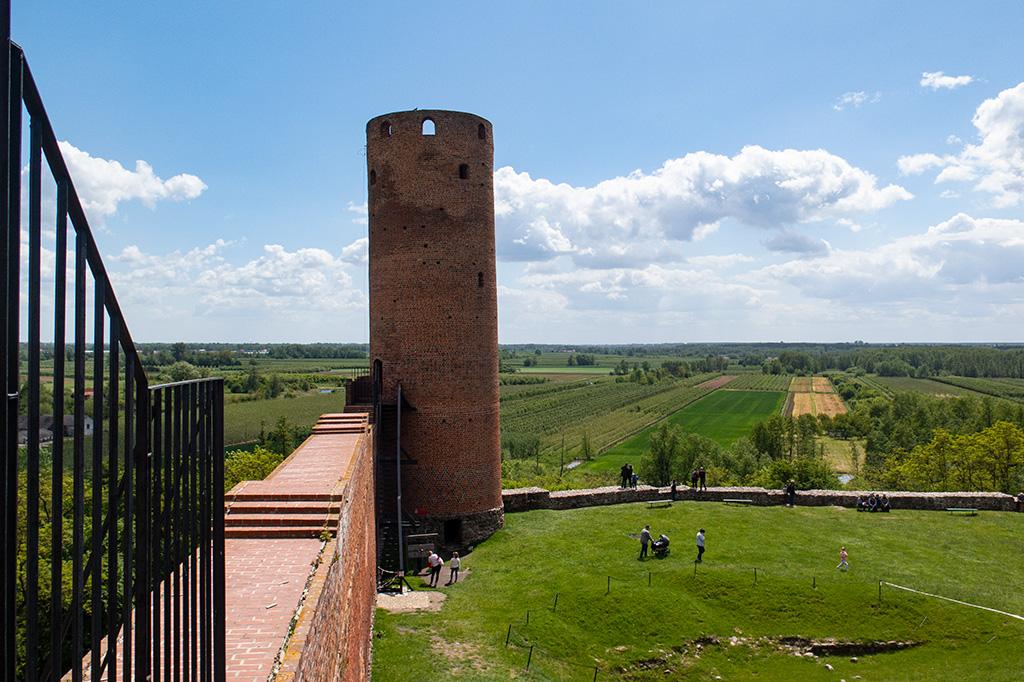 Zamek w Czersku – Wieża Południowa
