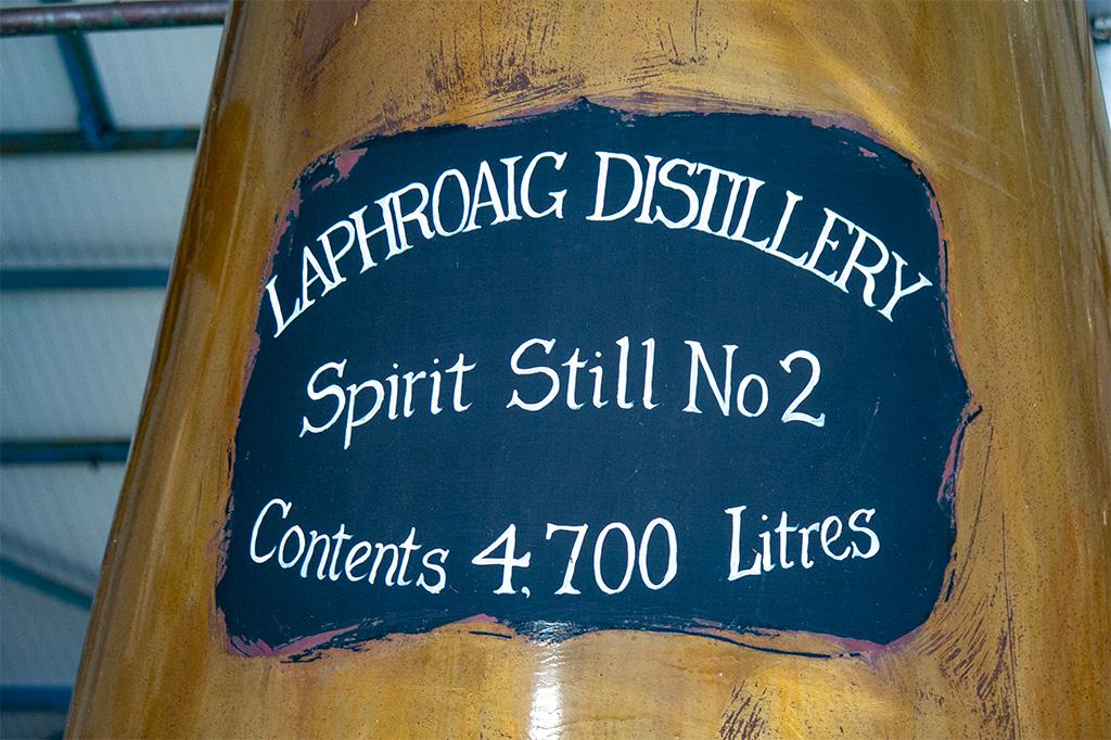Jak powstaje Islay Single Malt – spirit still o pojemności 4700 litrów w Laphroaig