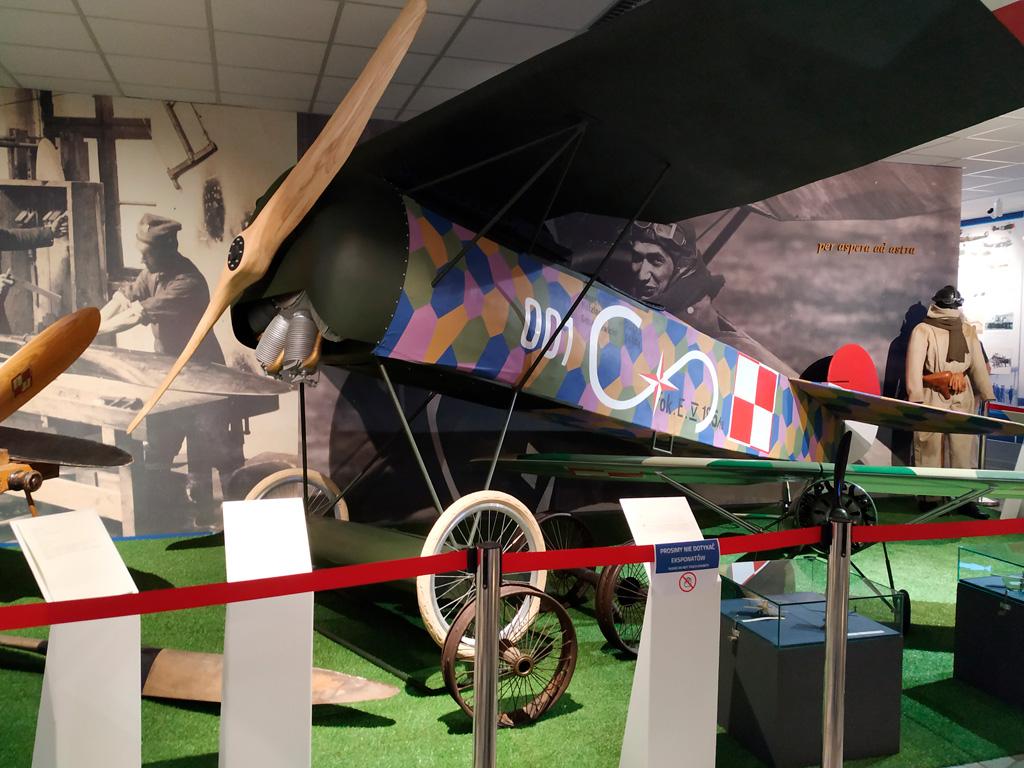 Muzeum Sił Powietrznych –fragment wystawy