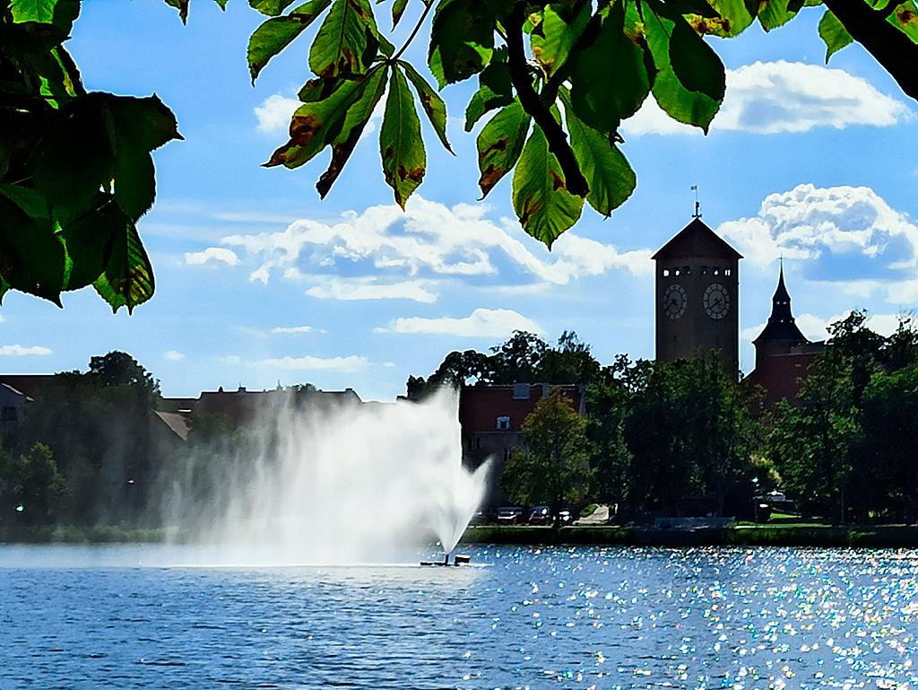 Jezioro Domowe Małe w Szczytnie