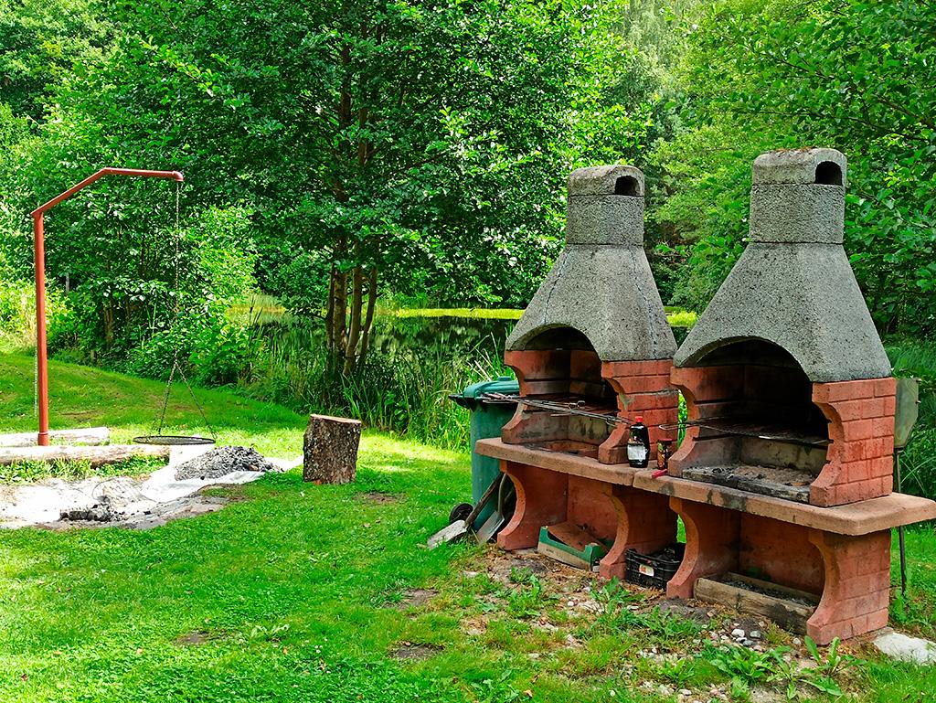 Mazurskie Uroczysko –miejsce na ognisko i grille