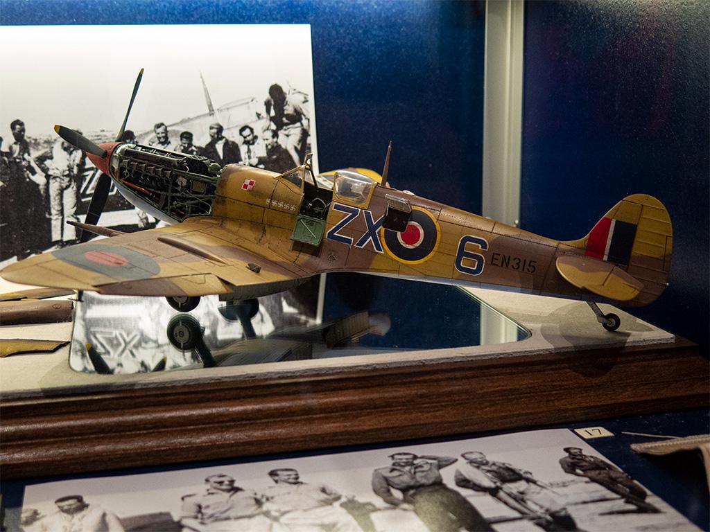 Jeden z eksponatów w Muzeum Sił Powietrznych