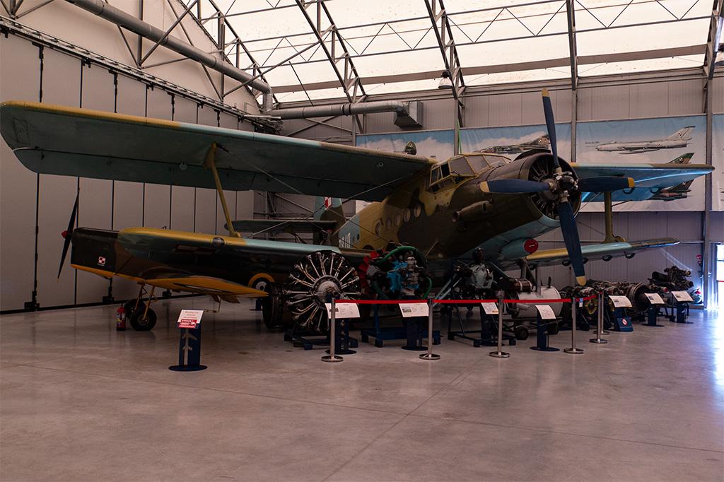 Muzeum Sił Powietrznych w Dęblinie – wnętrze drugiej hali