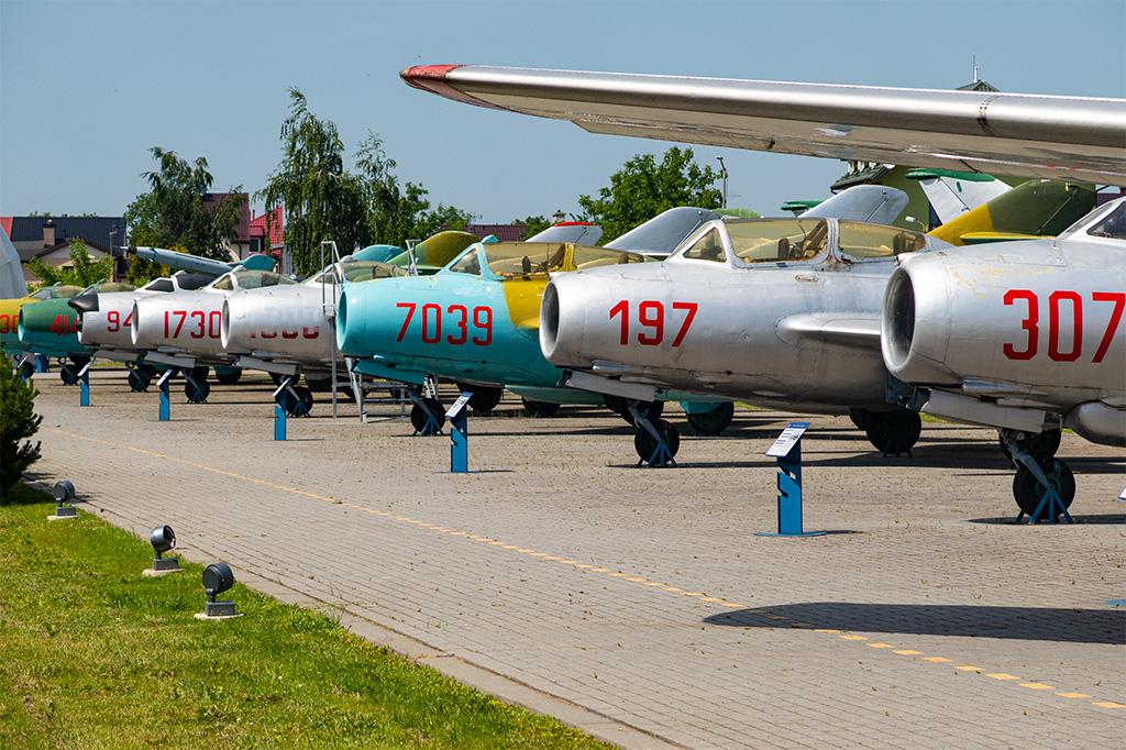 Muzeum Sił Powietrznych w Dęblinie – samoloty na wolnym powietrzu