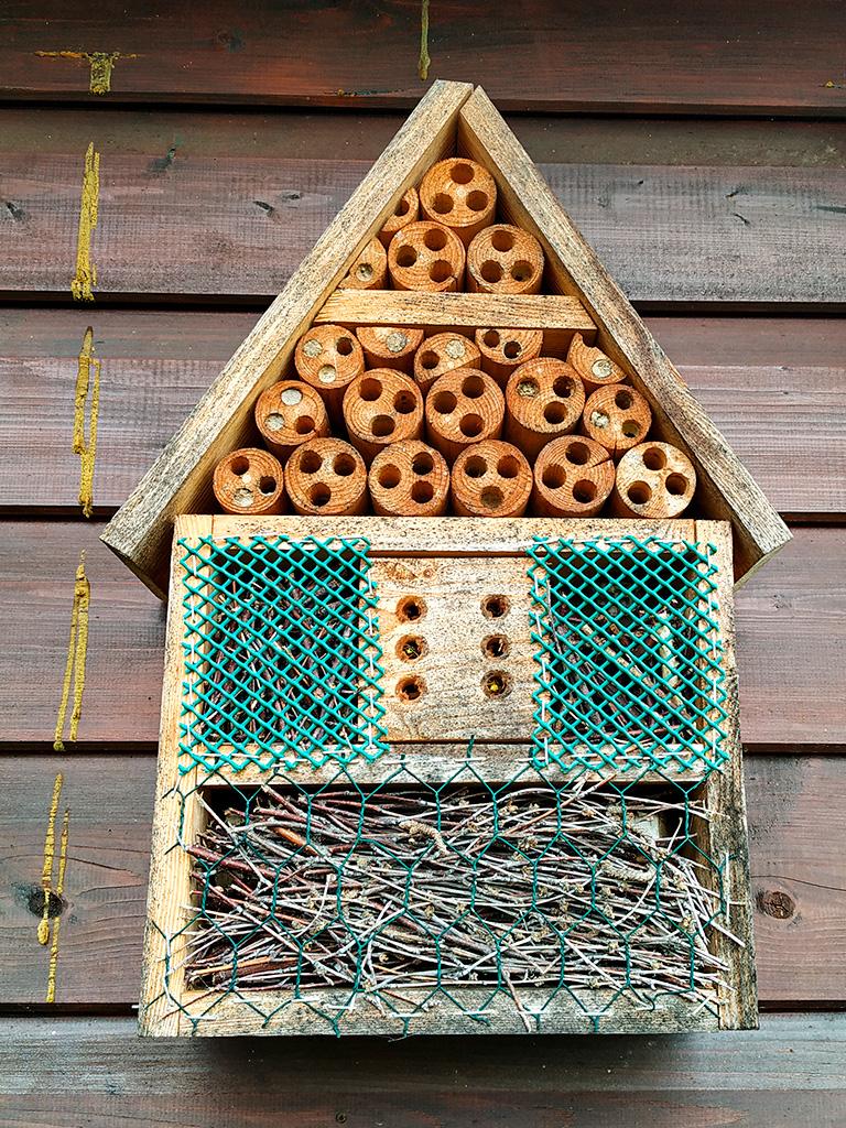 Domek dla owadów :)