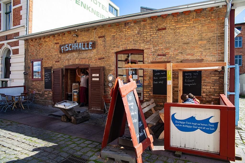 Fischalle w Stralsundzie