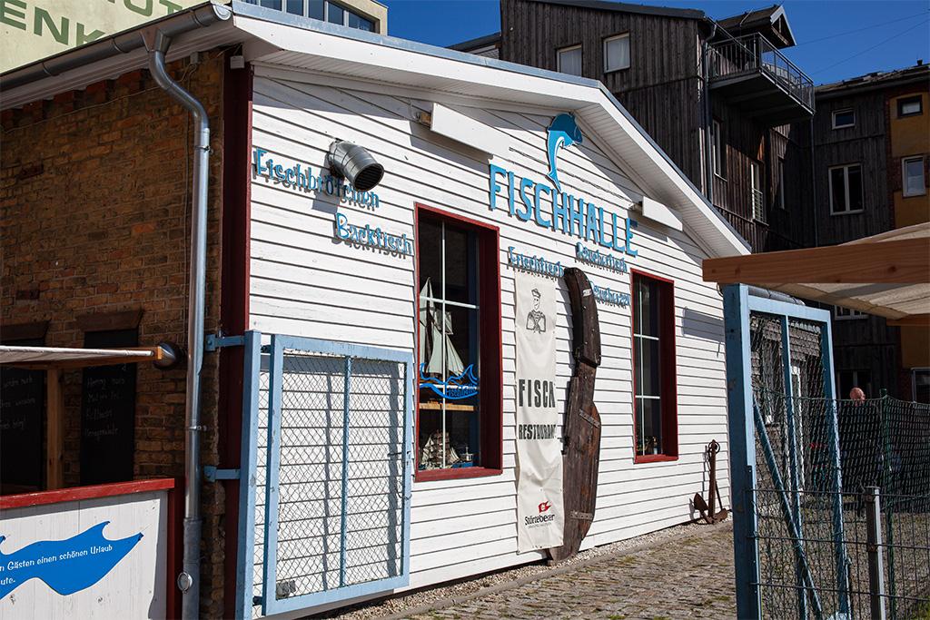 Fischhalle, rzut beretem od Oceanarium