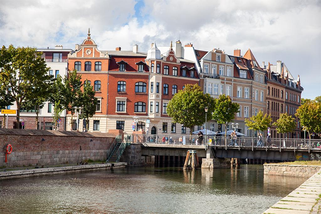 Stralsund – okolice portowe