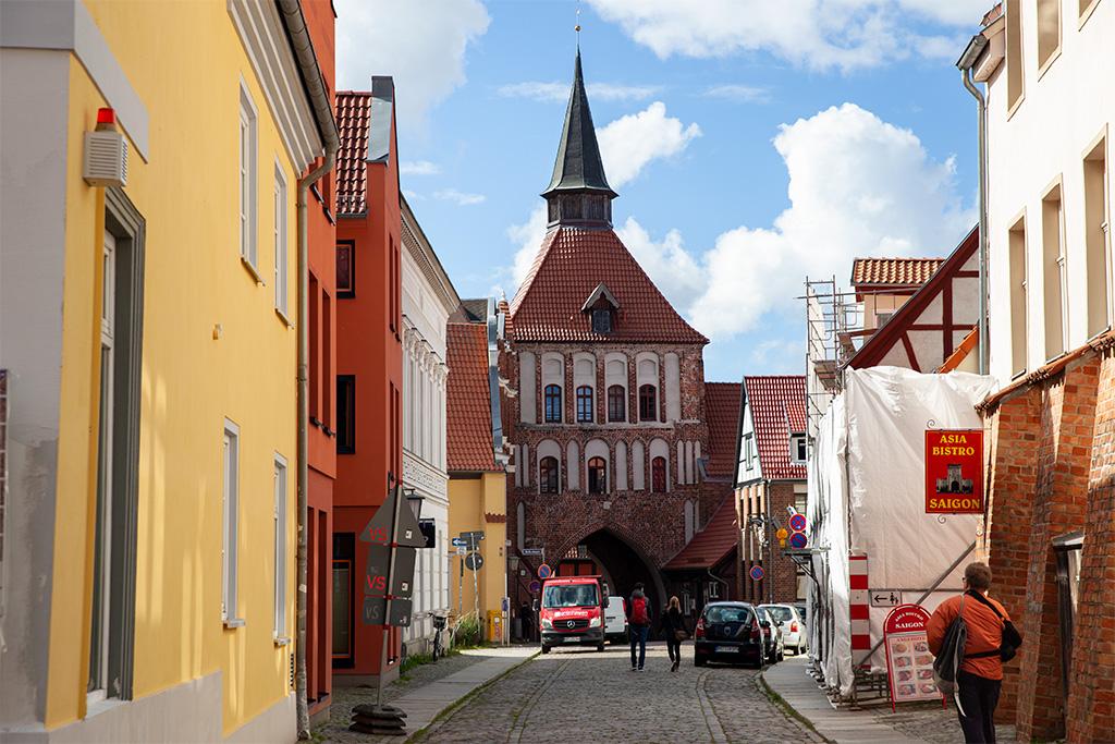Jedna z bram miejskich w Stralsundzie