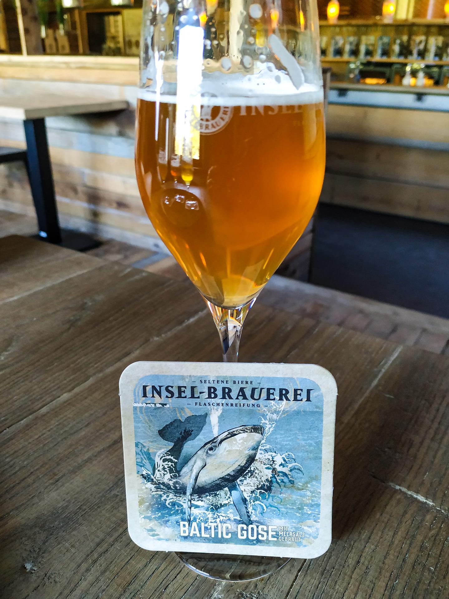 Baltic Gose, piwo o lekkim posmaku winnym, z wyczuwalnymi nutami owoców