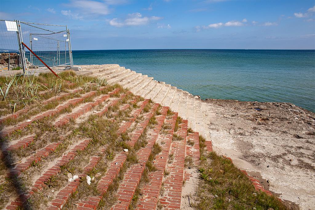 Prora – schody do morza