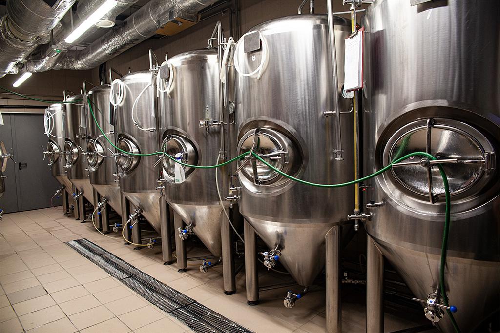 Tu fermentuje piwo