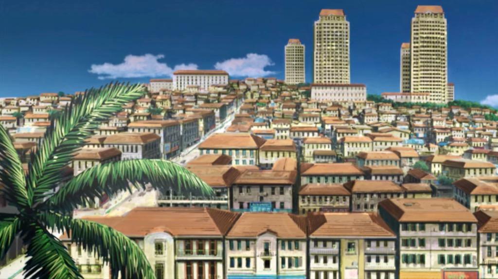 Anime city break – Roanapur z Black Lagoon