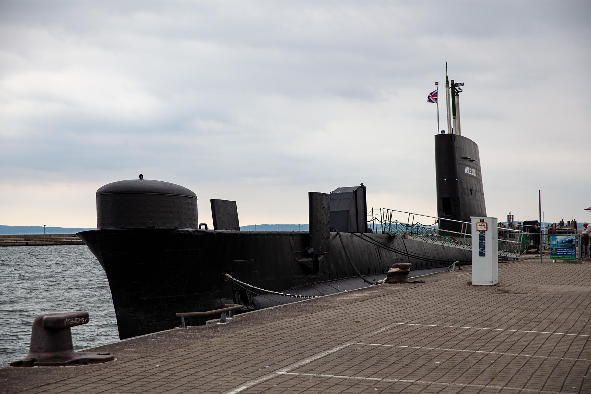 Rugia –dostępny do zwiedzania okręt podwodny w Saasnitz
