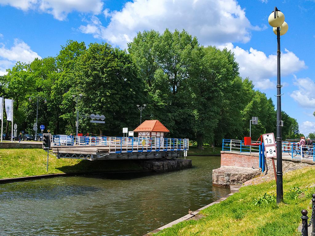 Most obrotowy na Kanale Łuczańskim