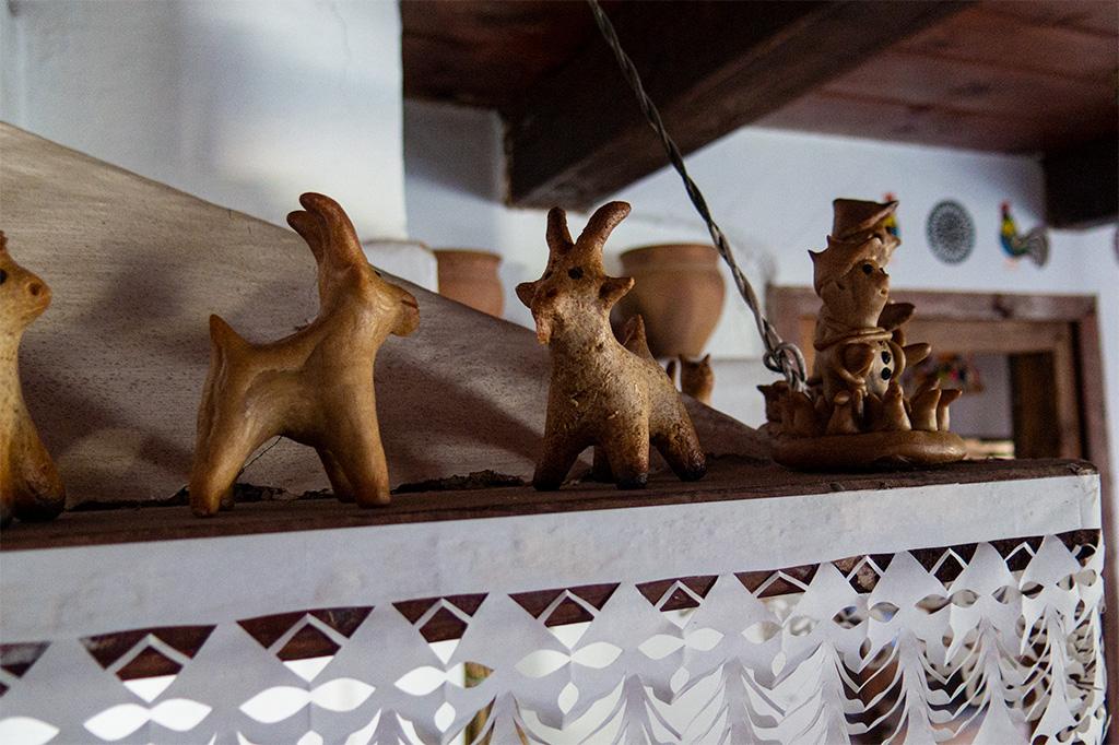 Figurki z ciasta chlebowego