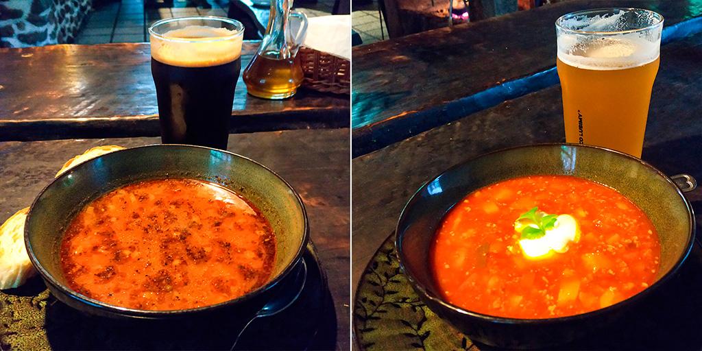 Pożywne karczemne zupy