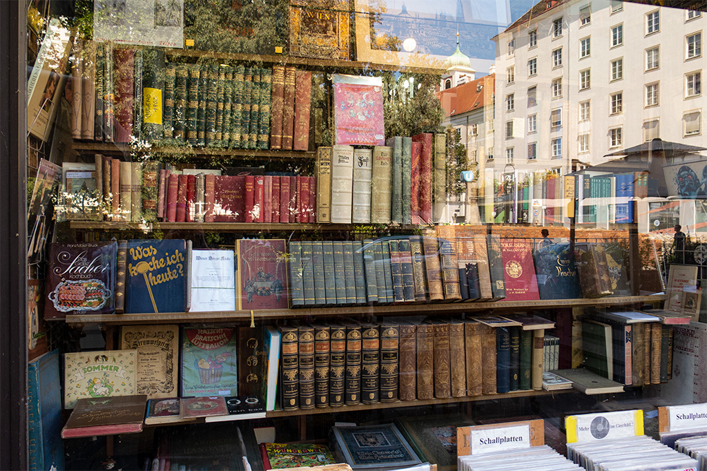 Wiedeń, city break – wystawa księgarni ze starymi książkami