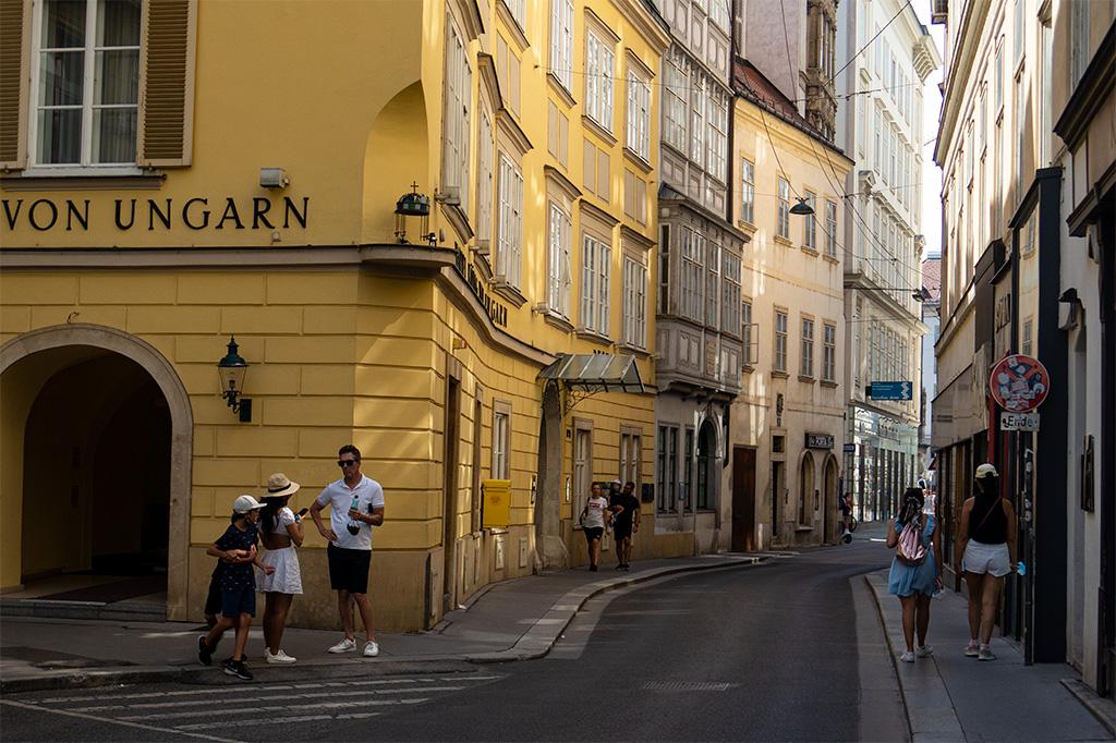 Uliczkęznam w Wiedniu