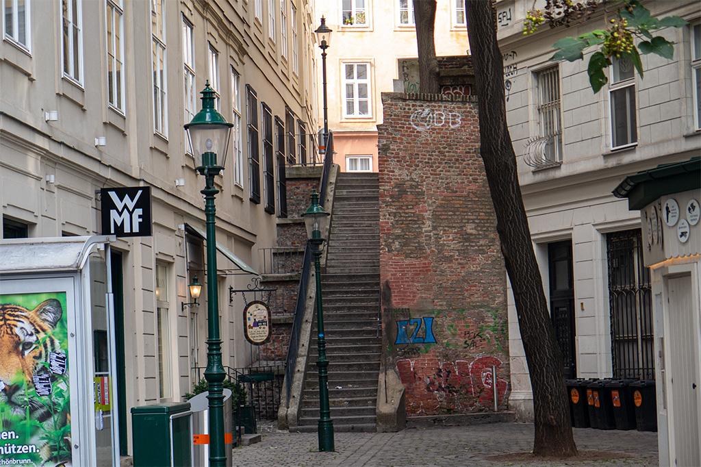 Wiedeń, city break – miejskie schodki